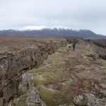 Divergence des plaques tectoniques américaines et européennes - Thingvellir