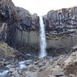 Cascade Svartifoss - Skaftafell