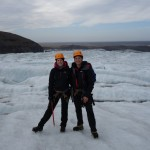 Marche sur le glacier Svinafellsjokull - Skaftafell