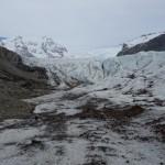 Glacier Svinafellsjokull - Skaftafell