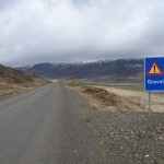 En route vers Egilsstadir - Oxi road