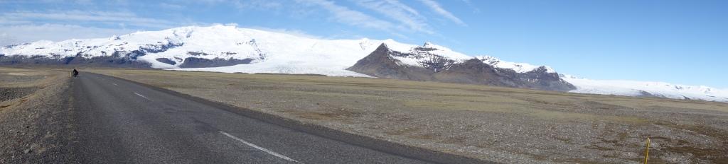 En route vers le Jökulsárlón - Islande