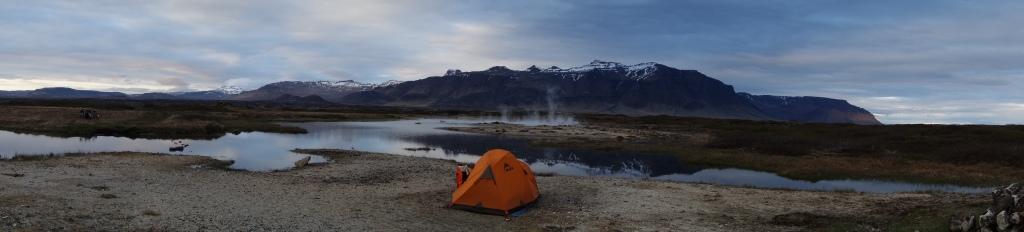 Source d'eau chaude de Elborgarhraun - Islande