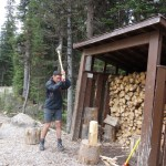 Quand homme blanc couper du bois... - Lake O'Hara