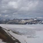 Glacier Coleman - Snowbird pass, Mount Robson