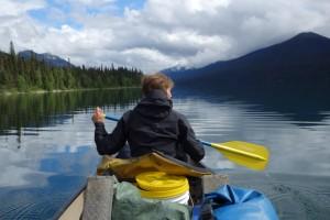 Sur le canoë - Isaac Lake