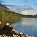 Sur la rive - Isaac Lake