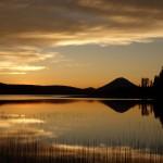 Coucher de soleil - Spectacle Lake