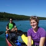 Sur le canoë - Yukon river, YT