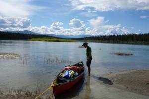 Pause - Yukon river, YT