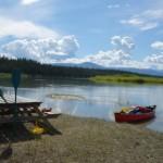 Panorama - Yukon river, YT
