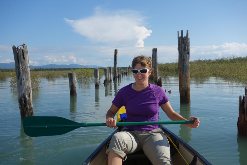 Entrée sur le lac - Lac Laberge, YT