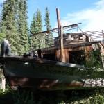 Bateau SS Evelyn - Yukon river, YT