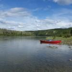 Sur le fleuve - Yukon river, YT