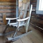 Chaise faite maison - Fort Selkirk,YT