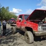 Mud trucks - Dawson, YT