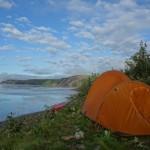 Campement - Yukon river, AK