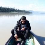 Préparation du déjeuner - Yukon river, AK