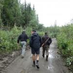 """""""Le bon et le mauvais chasseur"""" - Coal Creek Dredge, AK"""