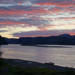 Sunset - Slaven's Roadhouse, AK