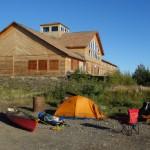 Dernier camping sur le Yukon - Circle, Alaska