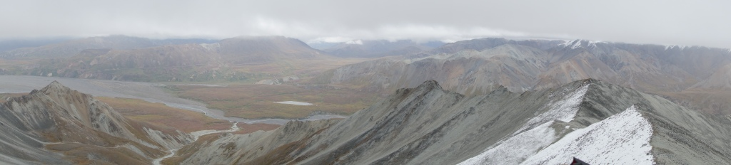 Ligne de crête Mont Eielson - Denali, Alaska