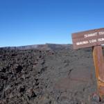 Vers le sommet, Mauna Loa - Hawaii