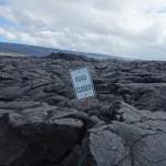 Route fermée - Hawaï