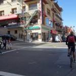 Vélo dans les rues de San Francisco