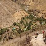 Arrivée vers l'oasis de Sangalle - Canyon de Colca