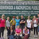 Arrivée au Machu Picchu