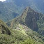 Machu Picchu vu de la Montana
