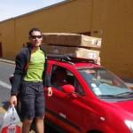 Déplacement de nos vélos - Arequipa