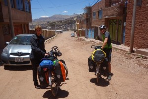 Départ en vélo - Puno