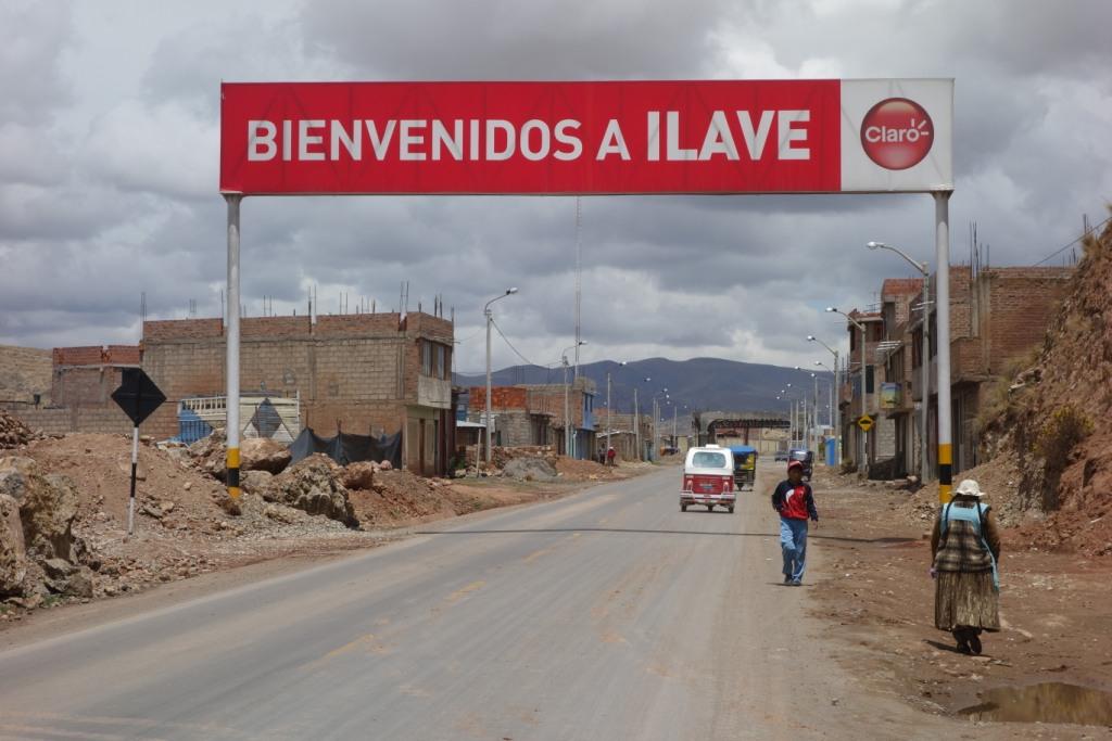 Arrivée à Llave - Pérou