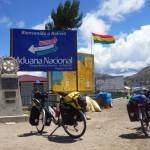 Entrée en Bolivie - Frontière Pérou/Bolivie