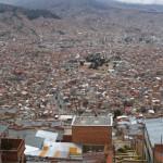 Vue de haut - La Paz