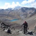 Vue du Huayna Potosi - Vers le Pico Austria