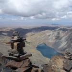 Vue en haut du Pico Austria