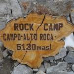 Refuge - Campo Alto Roca (5130 m)