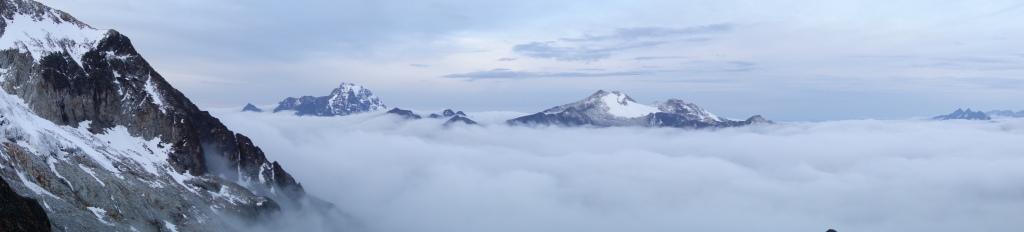 Mer de nuage - Campo Alto Roca (5130 m)