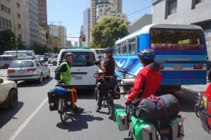 Départ - La Paz