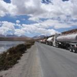 Grève, Frontière Bolivie/Chili