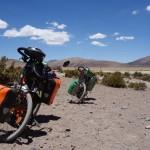 Après le Salar de Surire - Bolivie