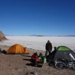 Ile pescador - Salar de Uyuni