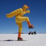 Canard géant - Salar de Uyuni