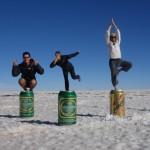 Chacun sa bière - Salar de Uyuni