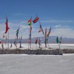 Drapeaux - Salar de Uyuni