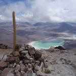 Cairn sommital (5920 m) - Licancabur