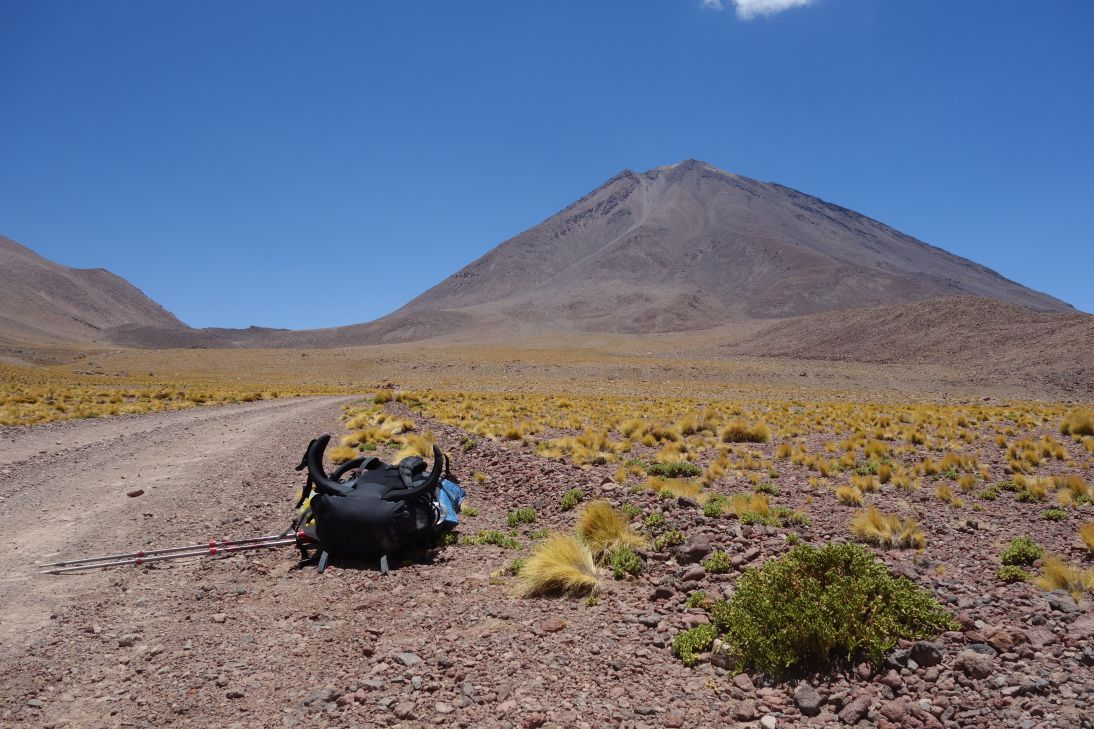 Vers le camp de base - Licancabur